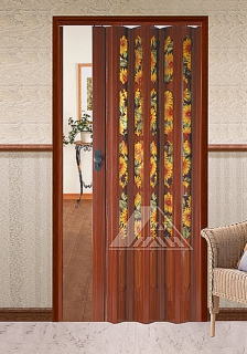 YN-08GB(4A1E) PVC Folding Doors