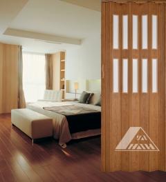 PVC Folding Door YN-14(2F)-1