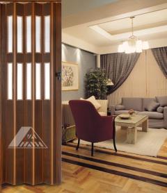 YN-01H(2F) PVC Folding Doors