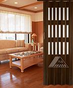 YN-11F(3F) PVC Folding Doors