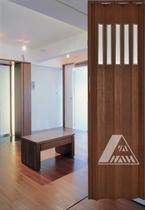 PVC Folding Door YN-14H(1F)