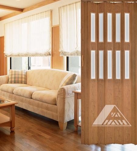 YN 14H2F PVC Folding Door